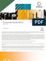 ENEVA Corporate Presentation