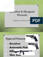 Gunshot & Shrapnel Wounds.pptx