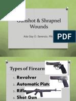 Gunshot & Shrapnel Wounds.pptx