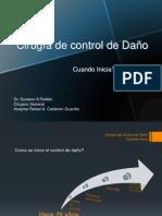 Cirugia control de Daño