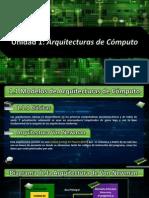 Unidad 1 Arquitectura de Computadoras