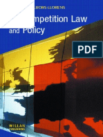 Ec Competition Law and Policy Albertina Albors
