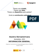 Muestra Iberoamericana - Movilízate