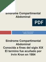 Paciente con manejo de hipertensión intraabdominal