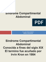 Sindrome Compartimental Abdominal Nov 12
