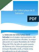 Selección de fútbol playa de El Salvador