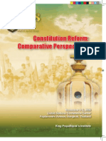 AAVV, La Reforma Constitucional, Una Perspectiva Comparada