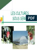 Cultures Sous Serre