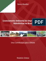 Banco Mundial Relatório sobre licenciamento no Brasil 0