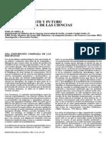 Pasado, Presente y Futuro de La Didactica de Las Ciencias
