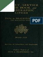 Direct Service Guide 1939