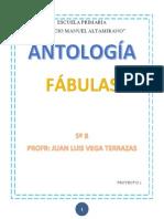 ANTOLOGIA DE FÁBULAS 5ºB