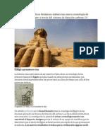 Un grupo de científicos británicos elabora una nueva cronología de los faraones de Egipto a través del sistema de datación carbono 14