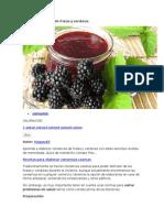 Conservas Caseras de Frutas y Verduras