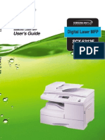 SCX5x12 MFP User Manual