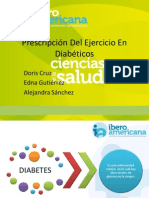 Prescripcion Del Ejercicio en Diabetes (1)