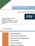 Emprendimiento y Modelo de Negocios UNMSM 2013