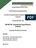 Abnt_nbr_2013_armazenamento de Liquidos Combustiveis e Inflamaveis