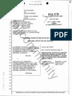 Jeffrey Adams Deposition Transcript