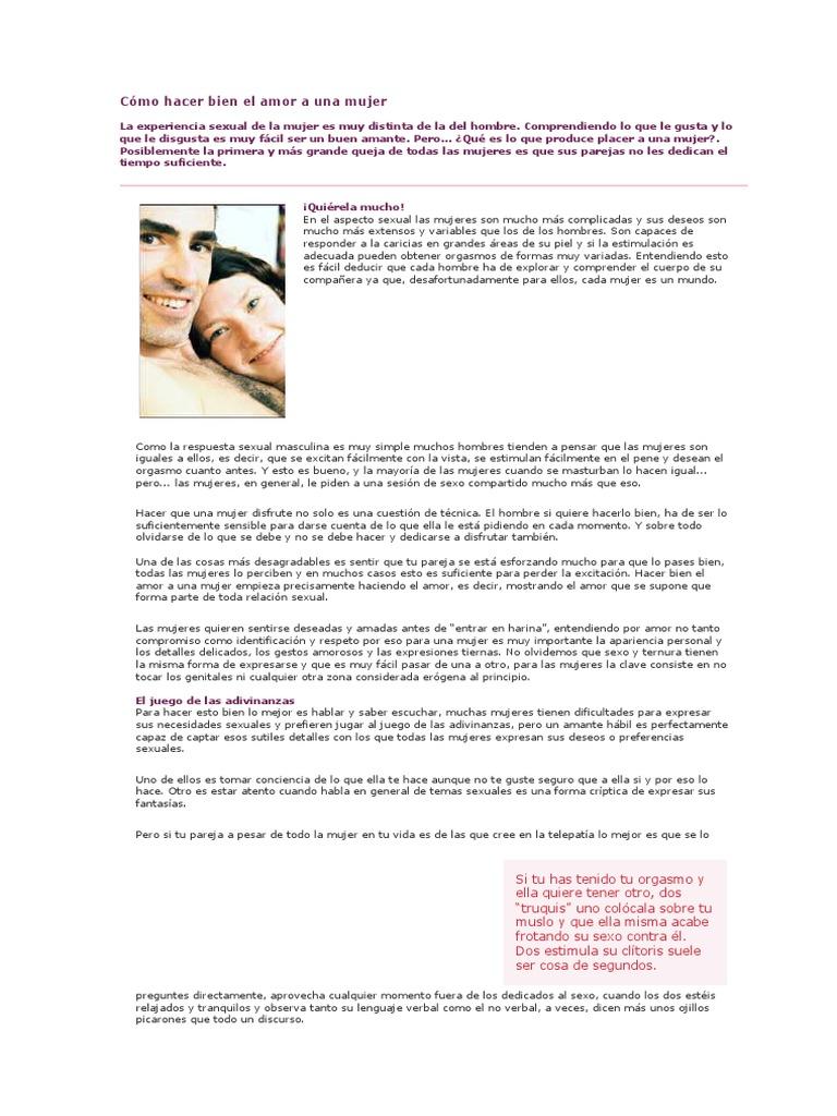 Como hacer bien el amor a tu mujer [PUNIQRANDLINE-(au-dating-names.txt) 69