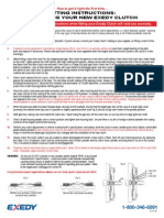 Install Instructions Exedy