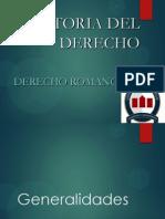 1. Clase HDD Derecho Romano