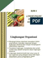 Lingkungan Organisasi n Budaya