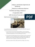 act 2 curso Innovación Educativa con recursos abiertos ITESM