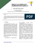 Artigo - SÍNTESE E CARACTERIZAÇÃO DO BIS(DIFENILFOSFINO)METANO