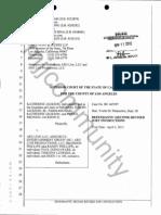 AEG Proposed Jury Instructions