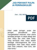 Power Point Etiologi Penyakit Pulpa Dan Periradikuler