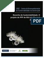 o Projeto Ppp de Rsu de Sao Jose Dos Campos