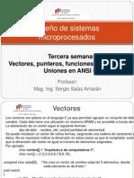 3. Vectores Punteros Funciones Estructuras