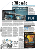 Le Monde Du Mercredi 31 Octobre 2012