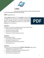 INTERPRETAÇÃO DE TEXTO - Língua Inglesa