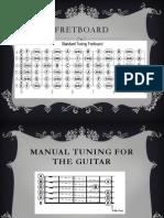 Fretboard & Tuning