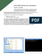 Windows Lecture