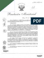 RESOL.MINISTERIAL N° 534-2013-MINSA