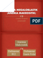 Idk - Anemia Makrositik