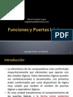 U01 Funciones y Puertas Logicas