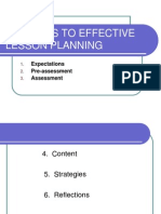 Lesson16-Six Steps to Effective Lesson Planning