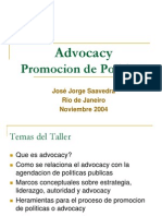 Promoción de Políticas