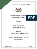 Campos Magneticos - Charca Ccari Edwing Alexis
