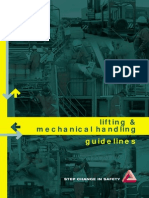 Lifting and Mechanical Handling Guidelines