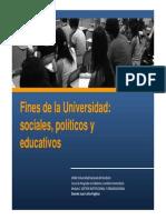 Fines Universidad