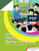Buku Guru - Tema 2 Selalu Berhemat Energi Kelas IV SD (Kurikulum 2013)
