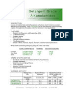 Detergent Grade Alkanolamides - 182