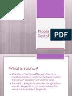 Properties of Sound