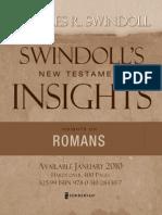 Insights on Romans by Charles R. Swindoll (sampler)