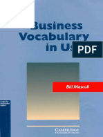 Bill Mascull -- Business Vocabulary in Use